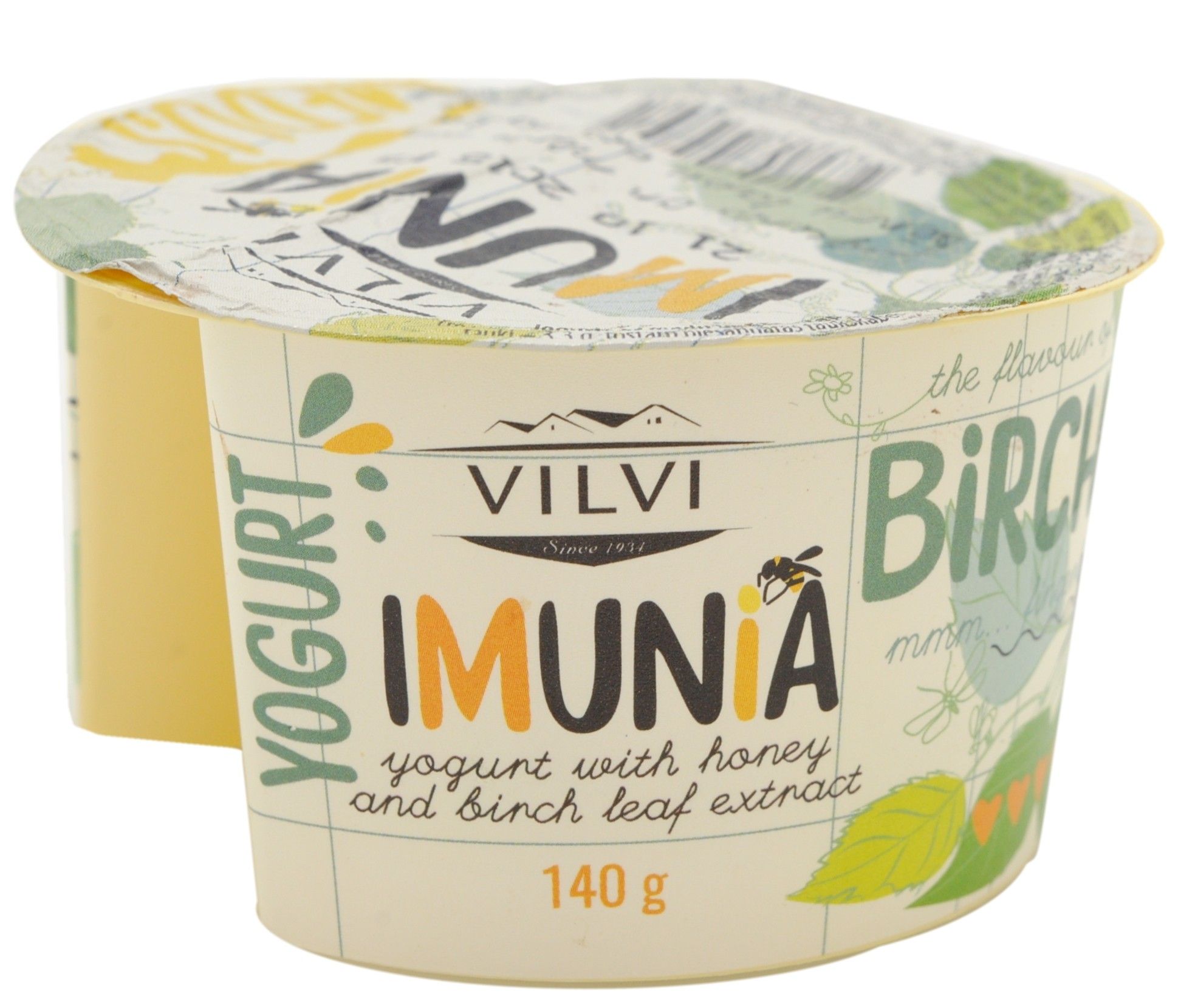 Yogurt with Honey & Birch Leaf Extract