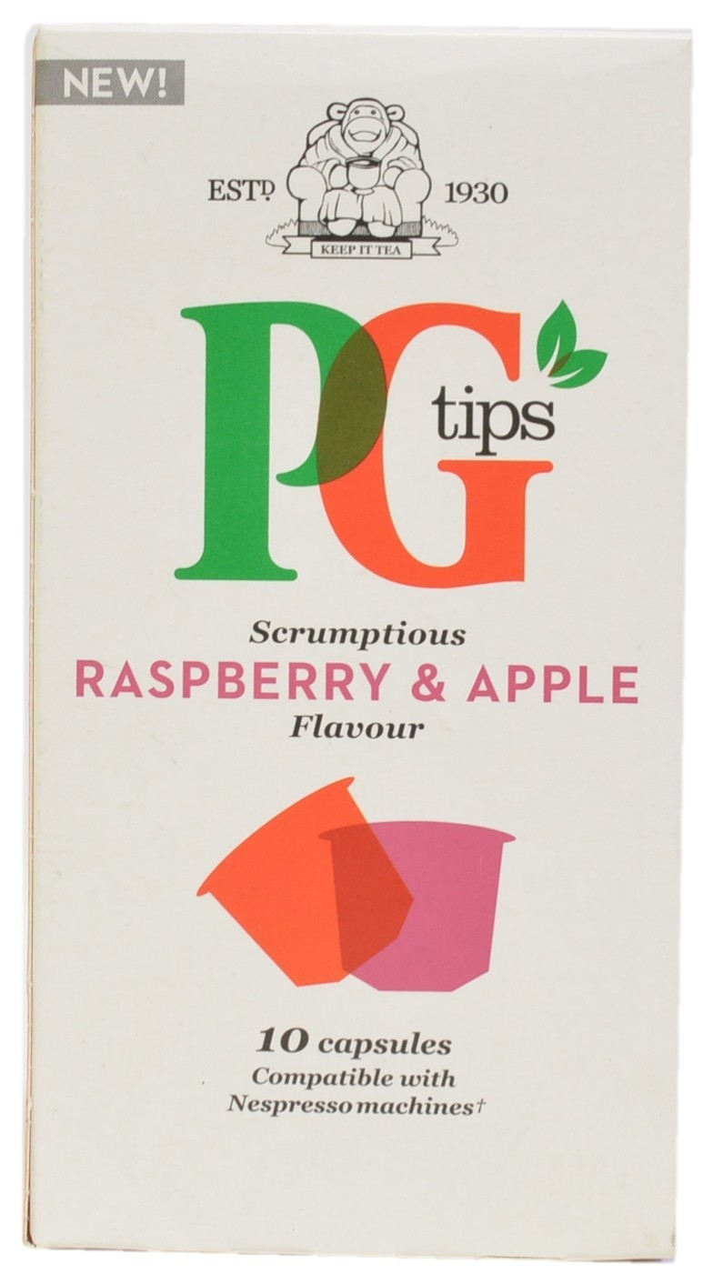 Raspberry & Apple Flavour Infusion Capsules