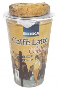 Edeka Caffè Latte + Cookie