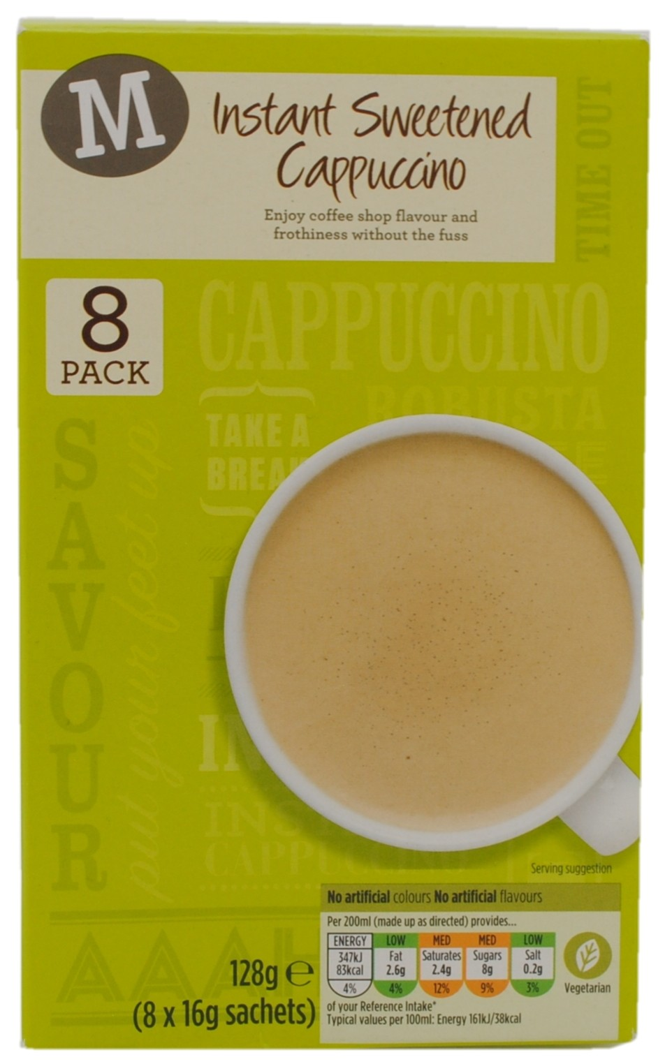 Instant Sweetened Cappuccino