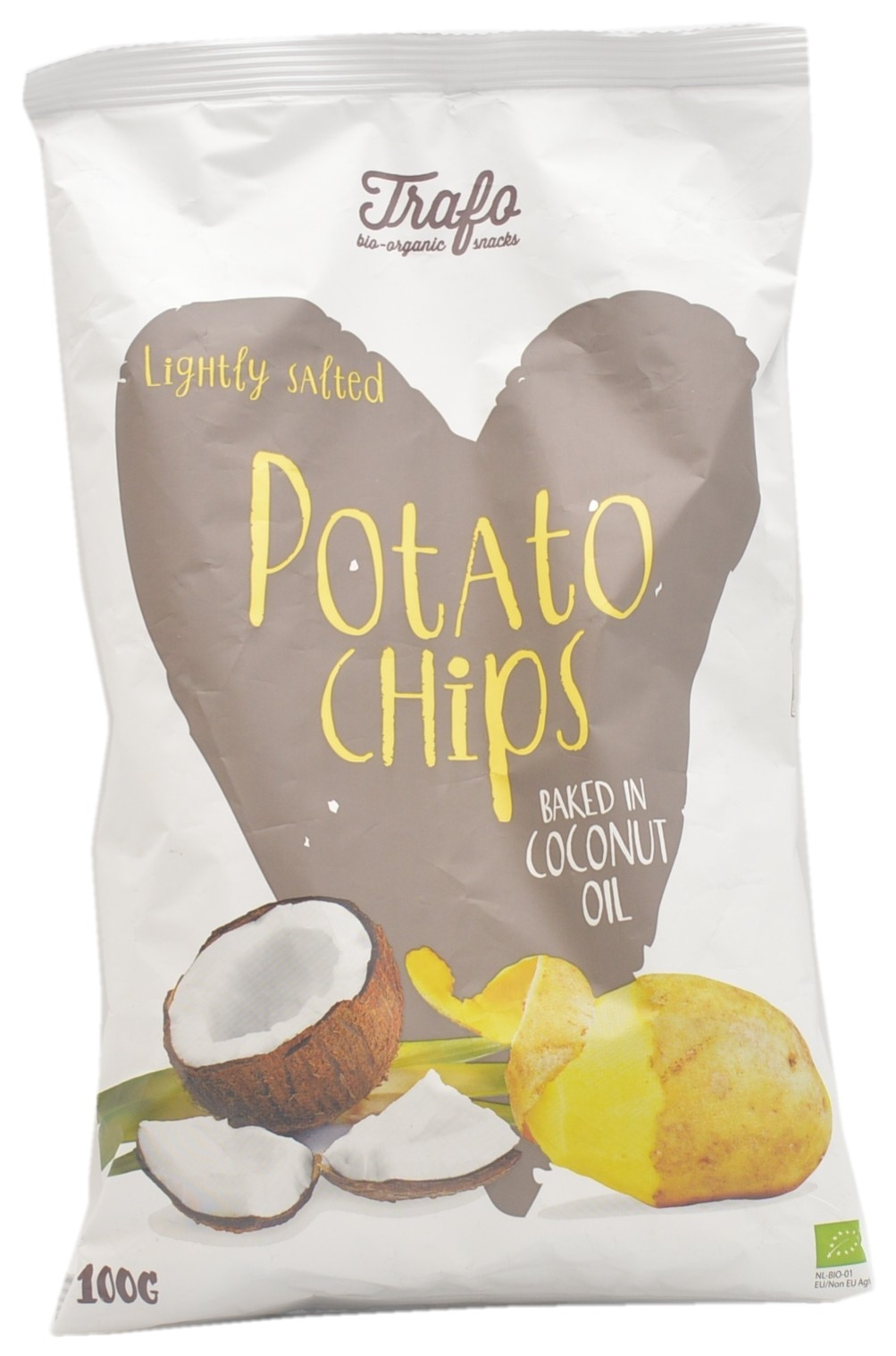 Lightly Salted Potato Chips Baked in Coconut Oil