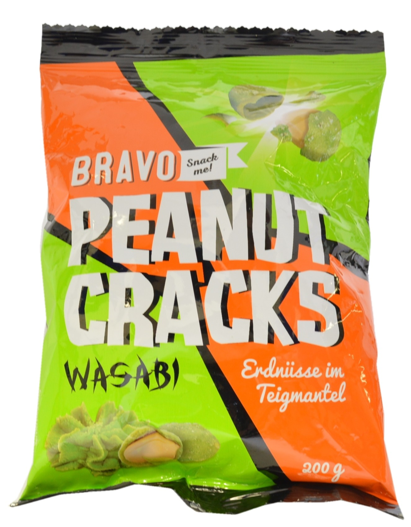 Peanuts in Crispy Wasabi Coating