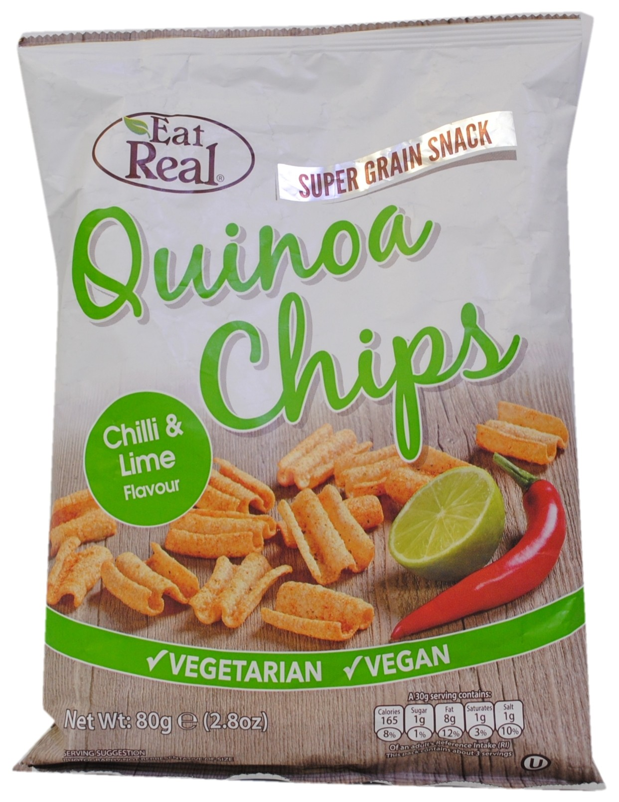 Quinoa Chips with Chilli & Lime Flavour