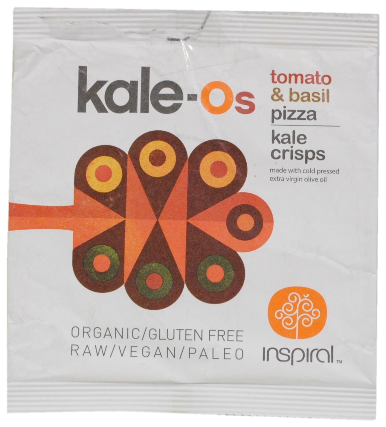 Tomato & Basil Pizza Flavoured Kale Crisps
