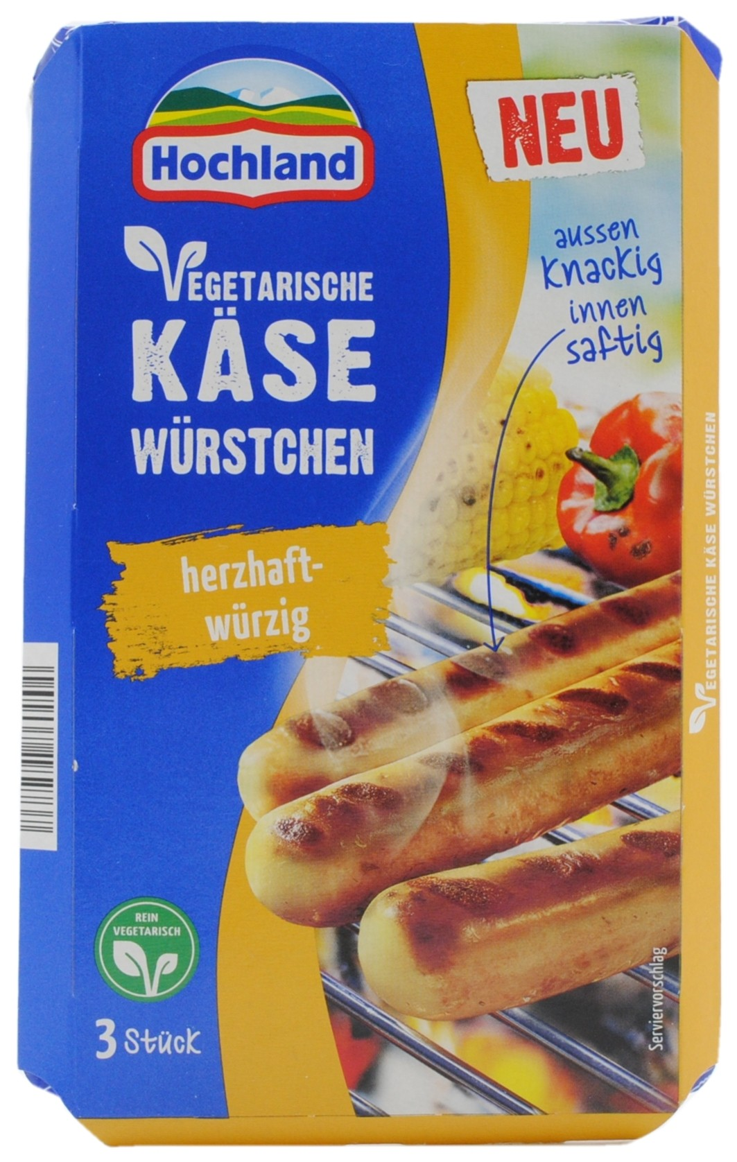 Vegetarian Cheese Sausages