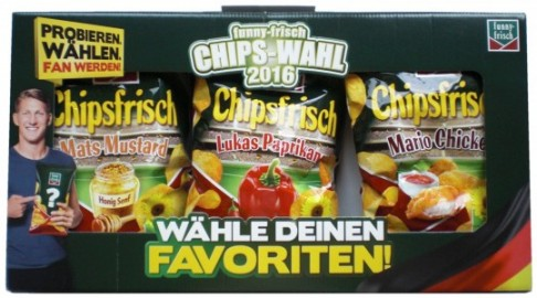 Funny-Frisch, Chips-Wahl 2016