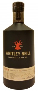 Whitley Neill Handcrafted Dry Gin, Kanada