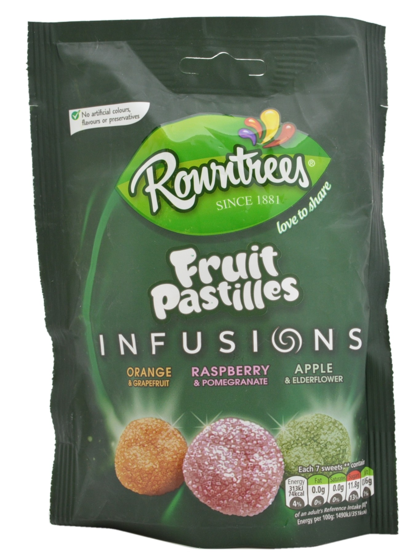 Fruit Pastilles Infusions