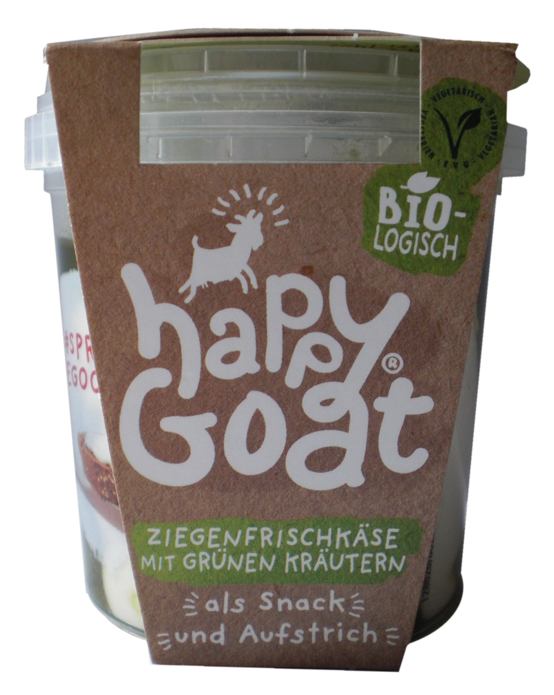 Organic Goat's Fresh Cheese with Green Herbs