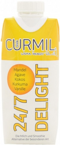 Curmil 24/7 Delight, Almond Drink with Turmeric and Vanilla